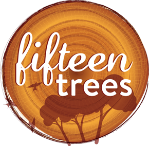 fifteen trees Logo